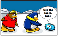Use the force puffle