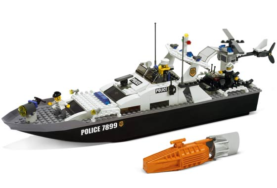 Hasyim: How to make a lego fishing boat