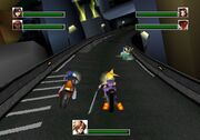 FFVII Crazy Motorcycle