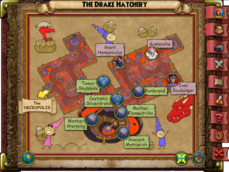 Map drake hatchery