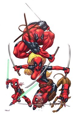 Prelude to Deadpool Corps Vol 1 1 Textless McGuinness Variant