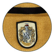 Hufflepuff crest (design for Beanie Hat)