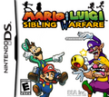 Mario &amp; Luigi Sibling Warfare Boxart