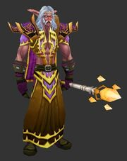 Highborne with Highborne Robes