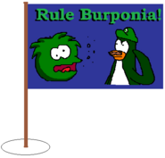 Burponia Mini Flag