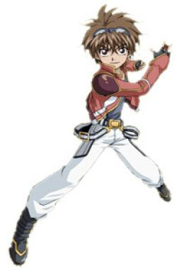 Personajes del anime Dan_Kuso.Series2
