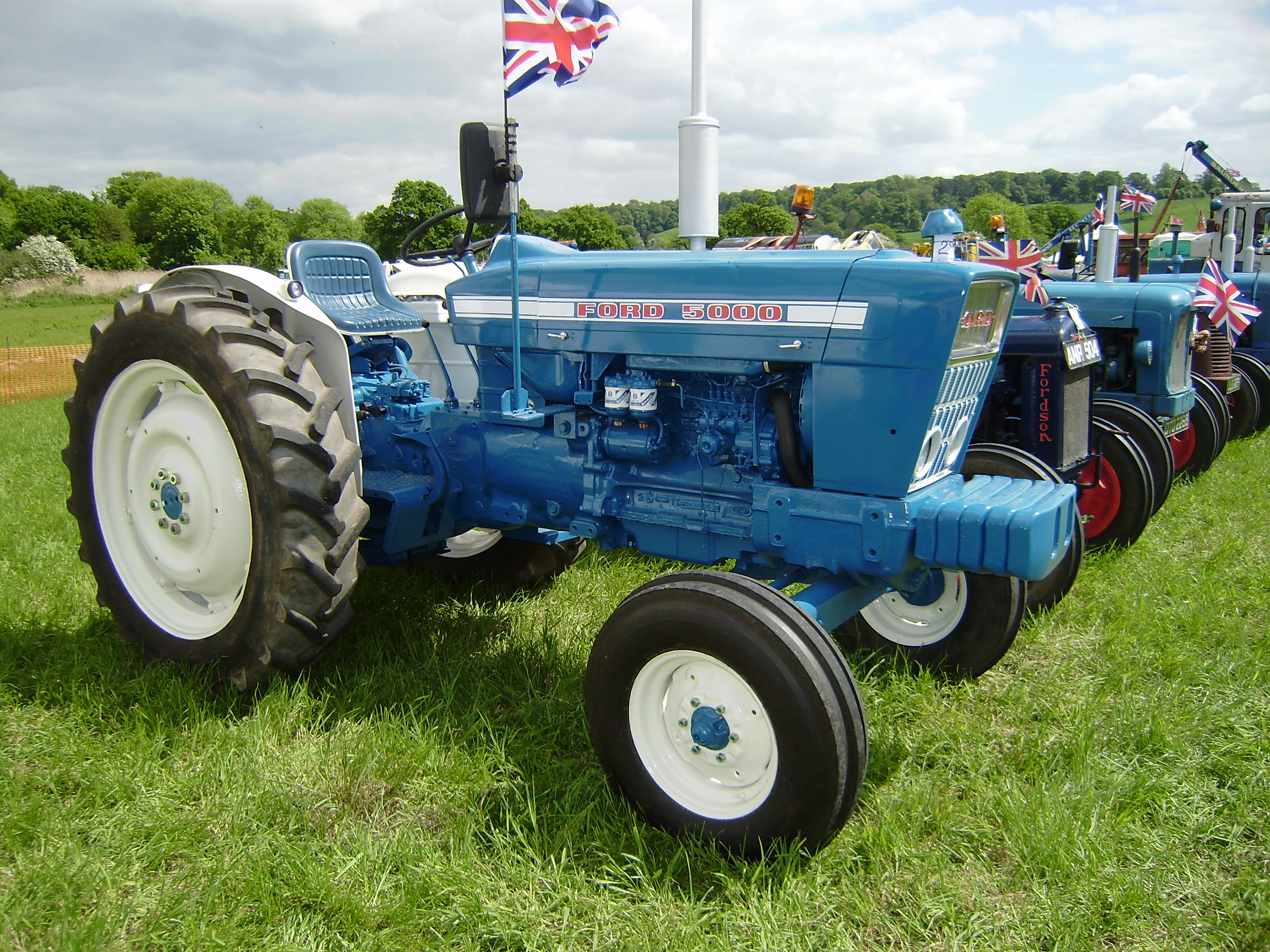 Ford 5000 Tractor Decals : Ford tractor parts autos post