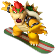 Bowser winter games