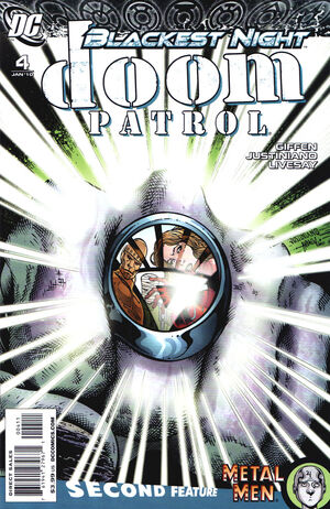 Cover for Doom Patrol #4