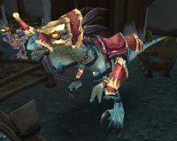 Stabled Darkspear Raptor