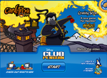 Card Jitsu Fire log in screen
