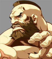 Character Select Zangief by UdonCrew
