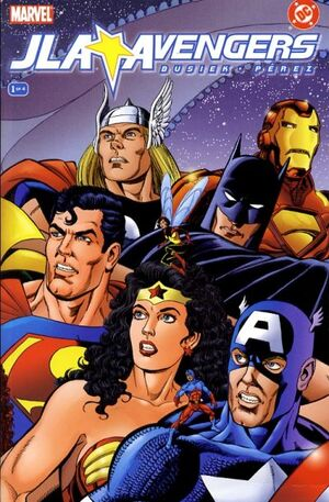 Cover for Avengers/JLA #1