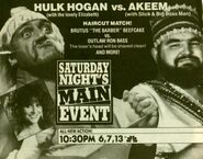 Saturday Night's Main Event XIX Ad