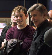 Anton Yelchin and Walter Koenig