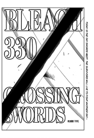 Bleach Ch330 cover