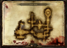 Map-Lower Ruins