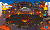 Fire Dojo decorations