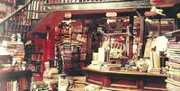 Flourish and Blotts (interior)