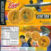 Star Trek Eggo waffles