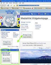 Check existence of source page before rendering wikipage widget - EXISTS
