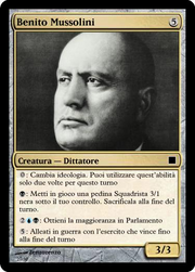 Benito mussolini-magic