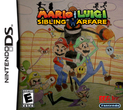 Mario &amp; Luigi Sibling Warfare New Boxart