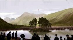 Albus Dumbledore's Funeral - 2nd Concept Artwork