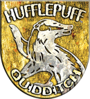 Hufflepuff Quidditch Badge