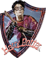 Harry Potter Quidditch Badge (Painting) - Harry Potter and the Prisoner of Azkaban.png