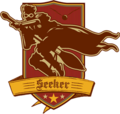 Seeker Badge (Brown and Maroon) - Harry Potter and the Half-Blood Prince.png