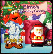 Elmo&#39;s Squeaky Santa