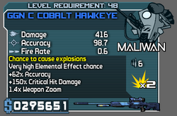 GGN C Cobalt Hawkeye