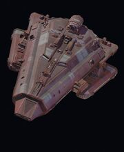 Bajoran assault vessel studiomodel