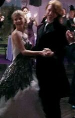 Bill & Fleur dancing after their Wedding