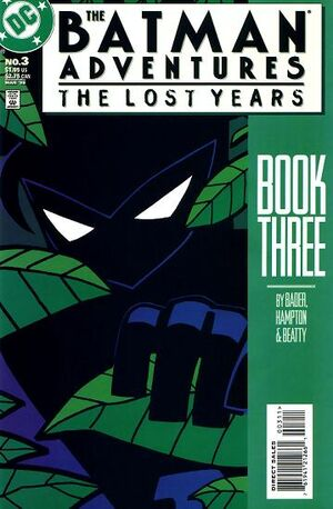 Cover for Batman Adventures: The Lost Years #3