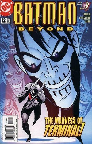 Cover for Batman Beyond #12