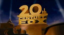 Logo 20th century fox 1994-2009