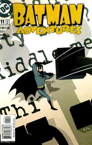 Cover for Batman Adventures #11