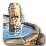 Village fountain icon