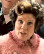 Close-up - Dolores Umbridge when she discovered the Dumbledore's Army