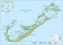 Topography of Bermuda