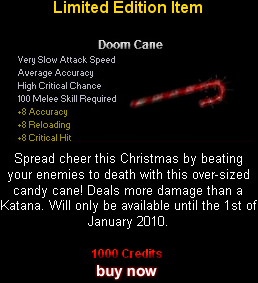 &quot;Doom Cane&quot;