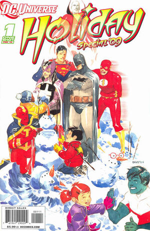 Cover for DC Universe Holiday Special '09 #1