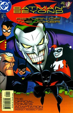 Cover for Batman Beyond: Return of the Joker: The Official Comics Adaptation #1