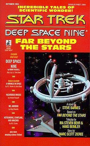 Far Beyond the Stars novel cover image