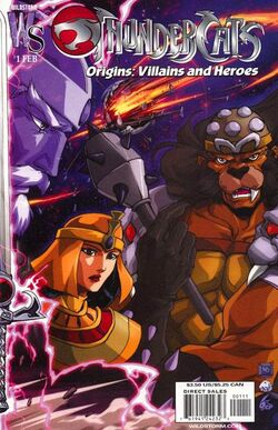 Thunder Cats Lair on Thundercats Origins  Villains And Heroes   Thundercats Wiki