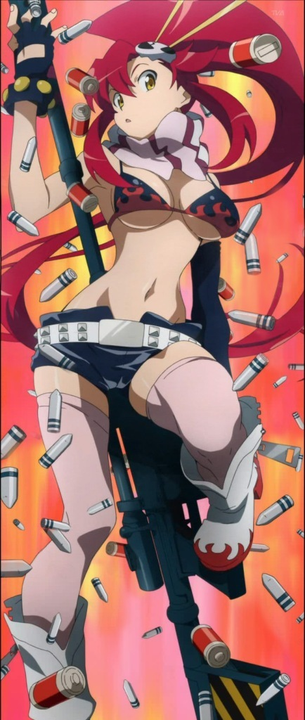 tengen toppa gurren lagann yoko. Featured on:Yoko Littner