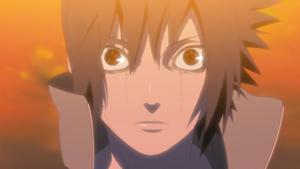 Sasuke&#39;s Awakened Mangekyou Sharingan