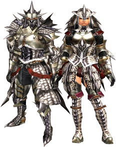 silver sol armor blade the monster hunter wiki